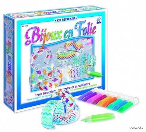 """Набор для росписи по пластику """"Разноцветные браслеты"""""""