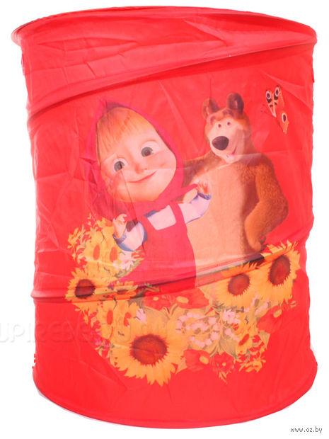 """Корзина для игрушек """"Маша и Медведь"""" (арт. X-19421)"""