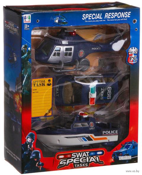 "Набор машинок ""Swat special"" (арт. 999-052D) — фото, картинка"