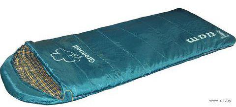 """Спальный мешок """"Туам"""" (правый; зелёный) — фото, картинка"""