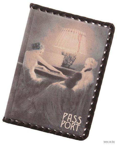 Обложка на паспорт (арт. КГОп-05-408) — фото, картинка