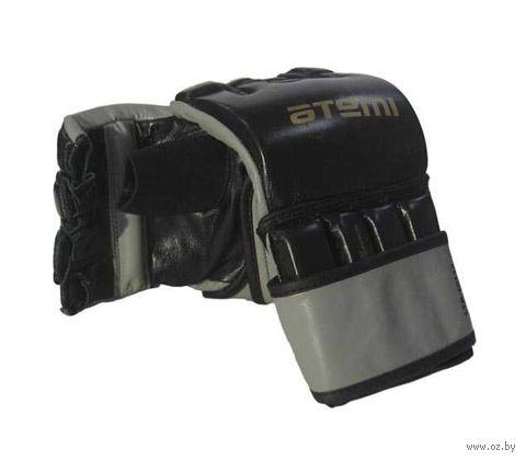 Перчатки для MMA LTB19113 (M; кожа; чёрные) — фото, картинка