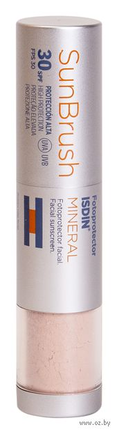 "Рассыпчатая пудра для лица минеральная ""Sun Brush Mineral"" SPF 30 — фото, картинка"