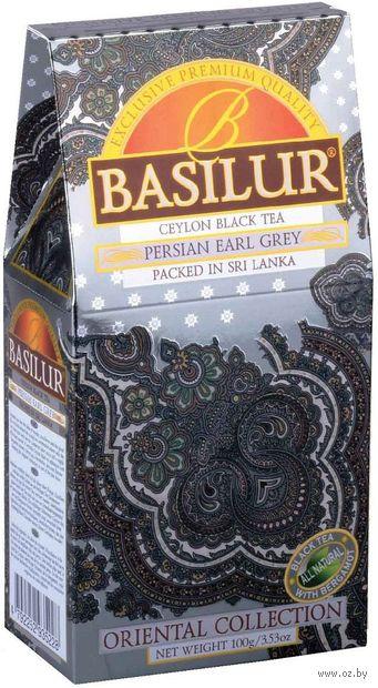 """Чай черный листовой """"Basilur. Эрл Грей"""" (100 г) — фото, картинка"""