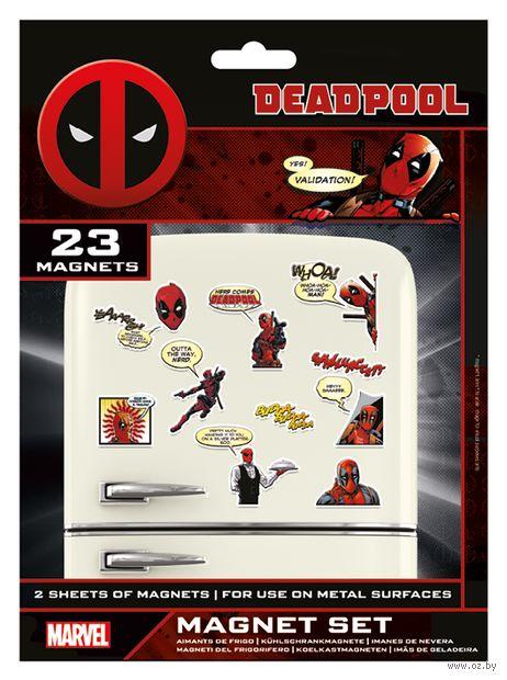 """Набор магнитов """"Deadpool"""" (23 шт.) — фото, картинка"""
