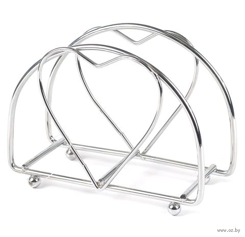 Подставка для салфеток металлическая (130х150х90 мм)