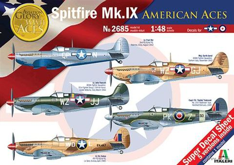 "Истребитель ""Spitfire Mk.IX American Aces"" (масштаб: 1/48) — фото, картинка"