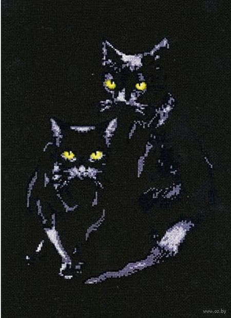"Вышивка крестом ""Кошки"""