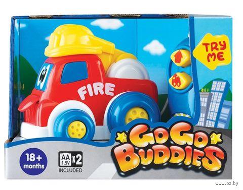 """Игрушка на радиоуправлении """"Веселая пожарная машина"""""""