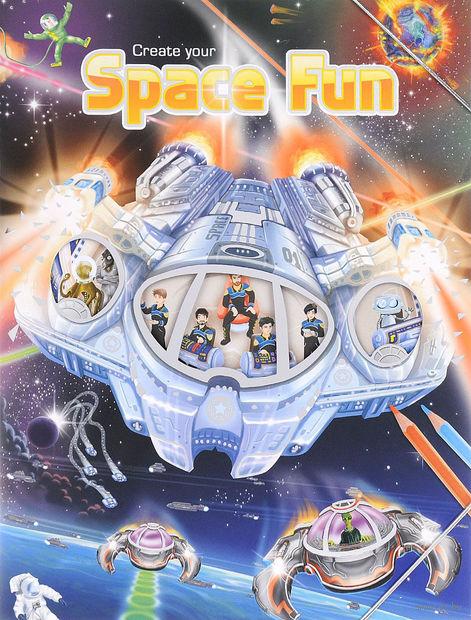 "Альбом с наклейками ""Creative Studio. Create your Space Fun"""