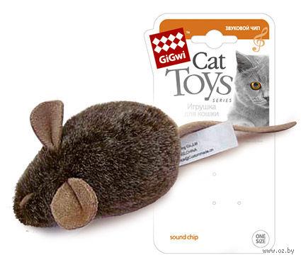 """Игрушка для кошек """"Мышка"""" со звуковым чипом (15 см) — фото, картинка"""