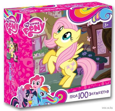 "Пазл ""My Little Pony. Флаттершай"" (100 элементов) — фото, картинка"