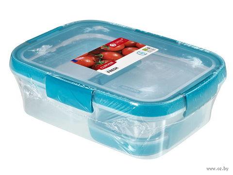 """Набор контейнеров для продуктов """"Fresh"""" (3 шт.; голубой) — фото, картинка"""