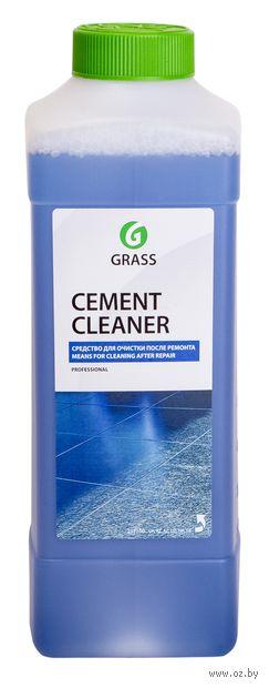 """Средство для мытья полов """"После ремонта. Cement cleaner"""" (1 л) — фото, картинка"""