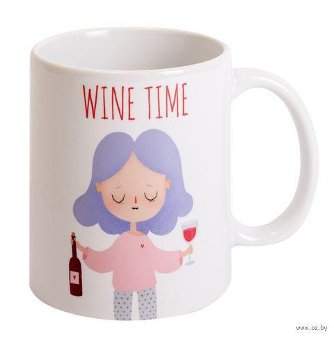 "Кружка ""Wine time"" — фото, картинка"