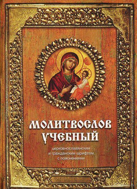 Молитвослов учебный церковнославянским и гражданским шрифтом с поучениями