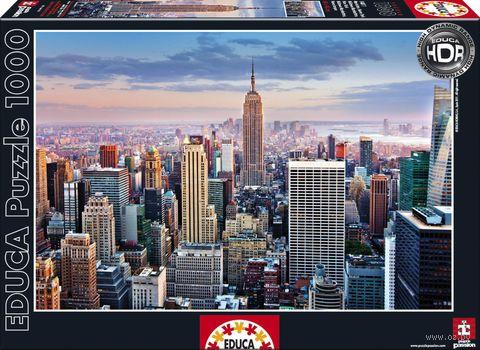 "Пазл ""Манхеттен. Нью-Йорк"" (1000 элементов) — фото, картинка"