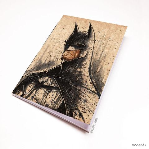 """Блокнот крафт """"Бэтмен"""" А6 (446)"""