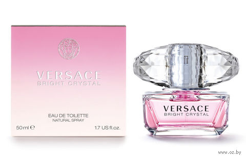 "Туалетная вода для женщин Versace ""Bright Crystal"" (50 мл)"