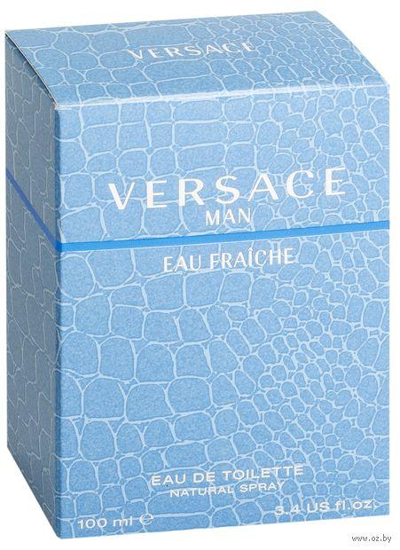 """Туалетная вода для мужчин Versace """"Man Eau Fraiche"""" (100 мл)"""