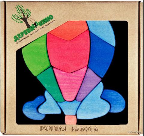 """Мозаика магнитная """"Воздушный шар"""" (15 элементов) — фото, картинка"""