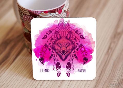 "Подставка под кружку ""Ethnic animal"" (арт. 30) — фото, картинка"