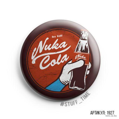 """Значок """"Nuka Cola"""" (арт. 1927) — фото, картинка"""