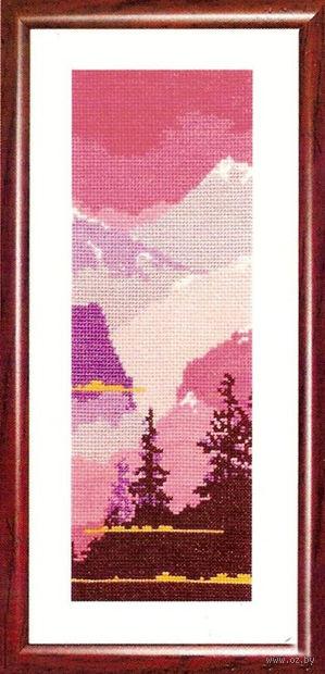 """Вышивка крестом """"Пейзаж"""" (100х280 мм; арт. 124В) — фото, картинка"""