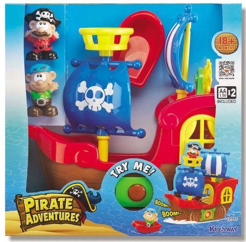 """Игровой набор """"Приключения пиратов"""" (со световыми и звуковыми эффектами) — фото, картинка"""