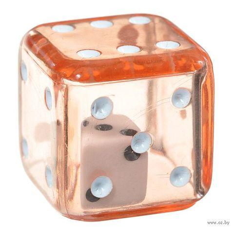 "Кубик D6 ""Кубик в кубике"" (19 мм; красный) — фото, картинка"