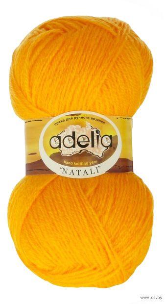 """Пряжа """"Adelia. Natali №3"""" (50 г; 300 м; ярко-жёлтый) — фото, картинка"""