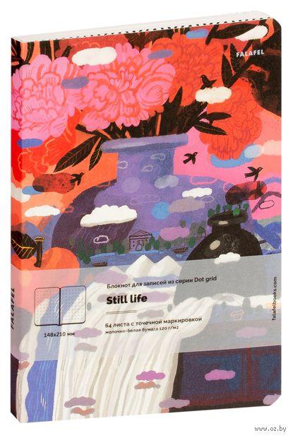 "Блокнот в точку ""Still Life"" (А5) — фото, картинка"