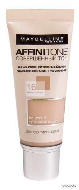 """Тональный крем для лица """"Affinitone"""" (тон: 16, ванильно-розовый; 30 мл)"""