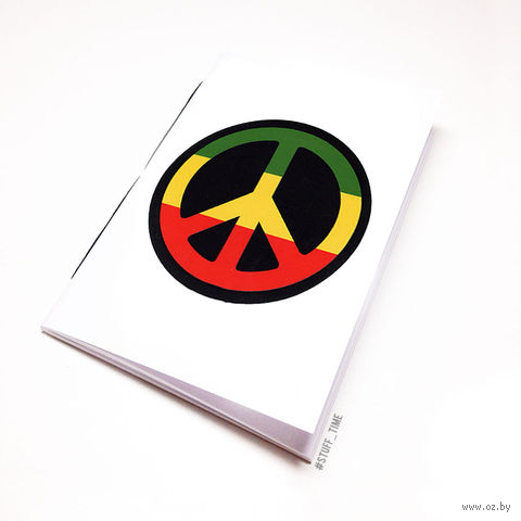 """Блокнот """"Peace"""" (А5; арт. 807) — фото, картинка"""