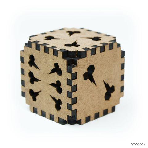 """Кубик сборный """"Zag Gula"""" (коричневый) — фото, картинка"""
