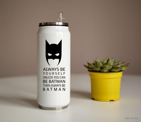 "Банка ""Be Batman"" (350 мл) — фото, картинка"