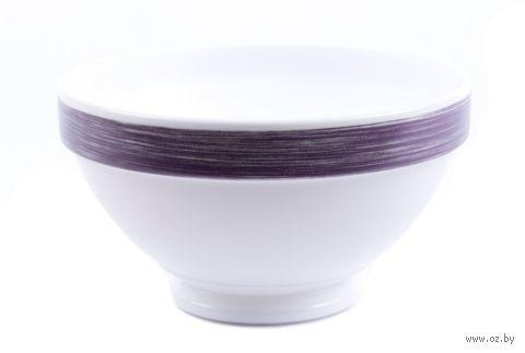 """Салатник стеклокерамический """"Brush Purple"""" (132 мм) — фото, картинка"""