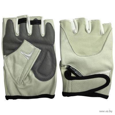 Перчатки для фитнеса 5102-BL (L; бежевые) — фото, картинка