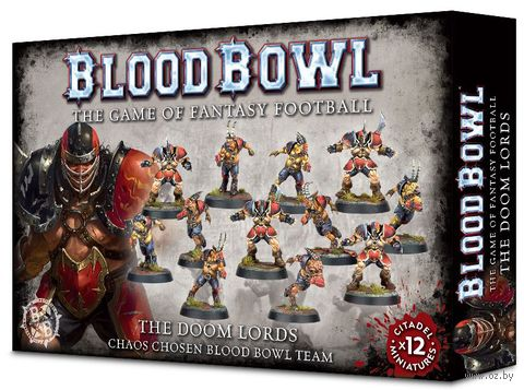 Warhammer Blood Bowl. The Doom Lords. Chaos Chosen Blood Bowl Team (200-47) — фото, картинка
