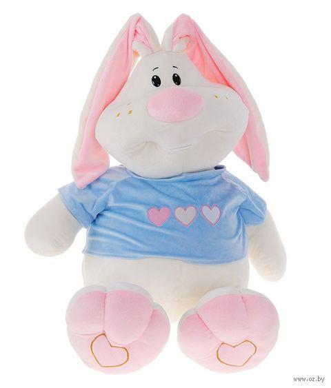 """Мягкая игрушка """"Заяц Ушастик"""" (43 см)"""