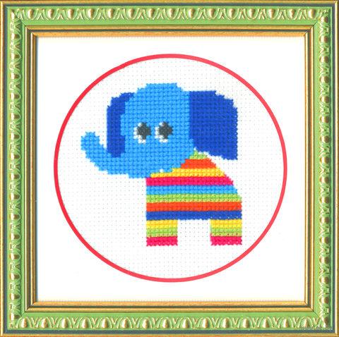 """Вышивка крестом """"Слоненок"""""""