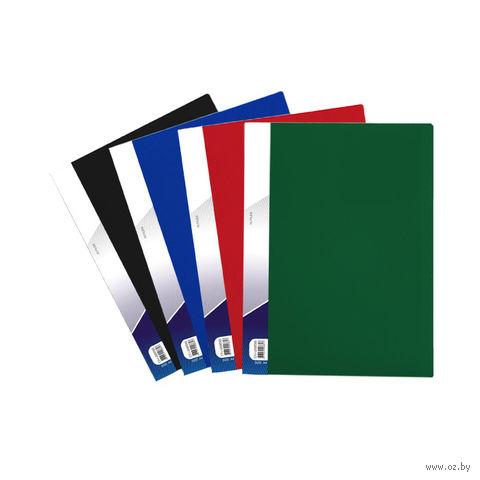 """Папка """"Darvish"""" с прозрачными файлами (А4; 60 листов; цвет: ассорти)"""
