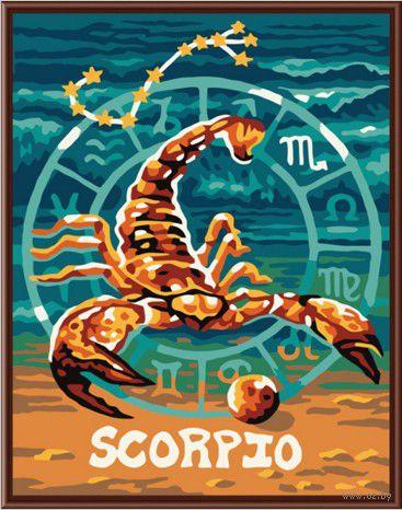 """Картина по номерам """"Скорпион"""" (400х500 мм) — фото, картинка"""