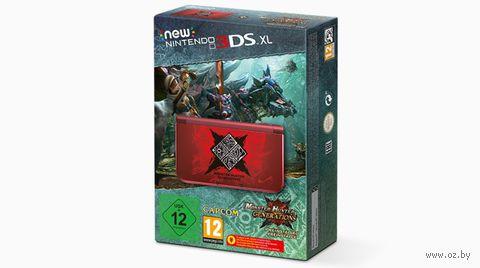 Игровая приставка New Nintendo 3DS XL + Monster Hunter Generations. Ограниченное издание (РСТ)