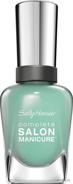 """Лак для ногтей """"Complete salon manicure"""" (тон: 672, мятный)"""