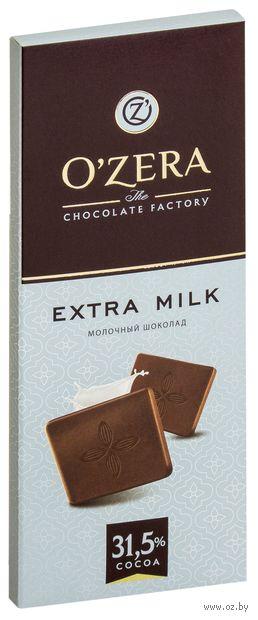 "Шоколад молочный ""O'Zera. Extra Мilk"" (90 г) — фото, картинка"