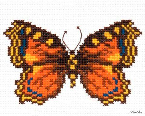 """Вышивка крестом """"Бабочка"""" (90x140 мм) — фото, картинка"""