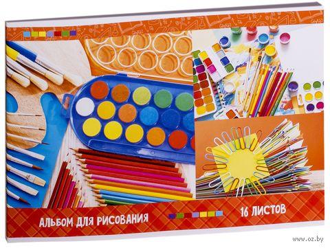 """Альбом для рисования """"Яркие краски"""" (А4; 16 листов) — фото, картинка"""