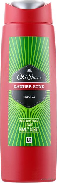 "Гель для душа ""Danger Zone"" (250 мл) — фото, картинка"