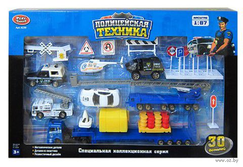 """Игровой набор """"Полицейская техника"""" (арт. А39863)"""